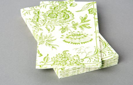 Guest Towel Napkin, 3 and 2-ply tissue, fcs or recycled