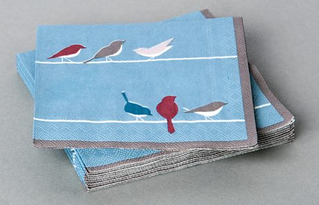 Cocktail Napkin, 3-ply tissue, fsc or recycled