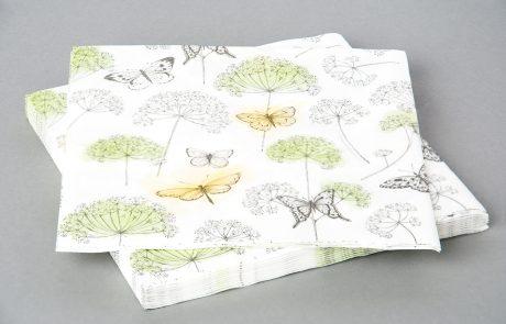Dinner napkin, 2-ply tissue