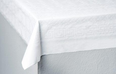 Tablecloths, 1-ply paper Softex, folded